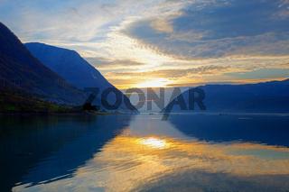 Sunset at Hardanger
