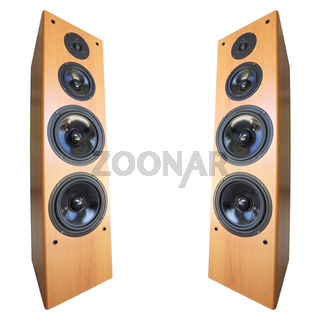 Acoustic stereo system