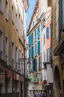 Picturesque and narrow streets of Manosque