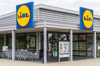 Filiale der Firma Lidl in Landsberg am Lech