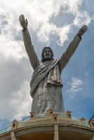 Riesige Jesusstatue nahe der Provinzhauptstadt Makale