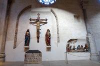 Kreuzigungsgruppe in Gross St. Martin, romanische Basilika in der Kölner Altstadt
