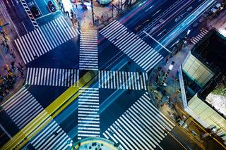 Sukiyabashi intersection of image