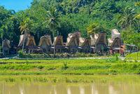 Kete Kesu ist ein Dorf in Tana Toraja, bekannt für seine Bräuche und sein traditionelles Leben
