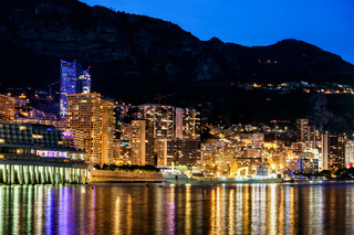 Monaco Monte Carlo By Night