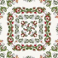 Rosemaling vector pattern 19