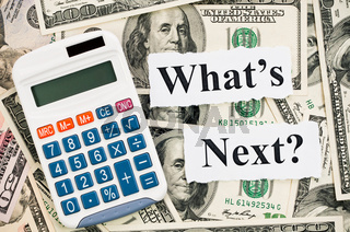 What is next about your finance