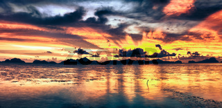 Fantasy sunset