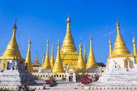 Buddhist tample, Pindaya, Burma, Myanmar.