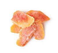 Dried papaya