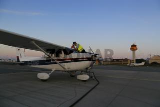 Flugzeugbetankung