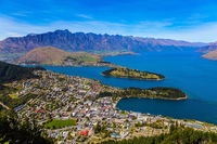 The  shores of Lake Wakatipu