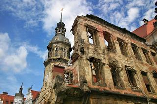 Ruins of Dresden, Germany.