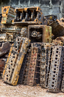 company that disassembles old engines