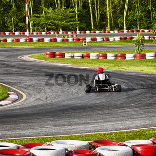 Racing track for Carting
