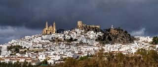 Olvera is a white village, pueblo blanco in Cadiz province, Andalusia, Spain