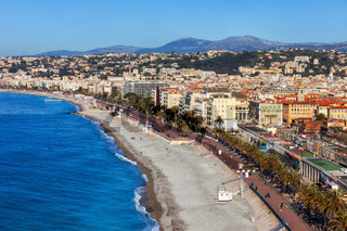 Beach and the Sea in City of Nice