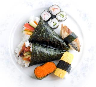 Sushi set.