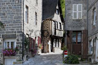 Dinan Altstadt, Bretagne