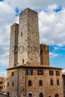 Torri dei Salvucci in San Gimignano