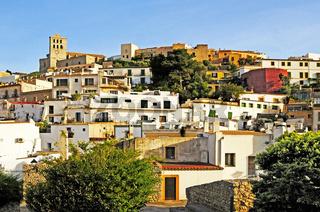 Spanien, Insel Ibiza, Altstadt