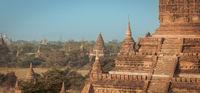 Tamples of Bagan, Burma, Myanmar, Asia.