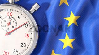 EU - Die Zeit läuft