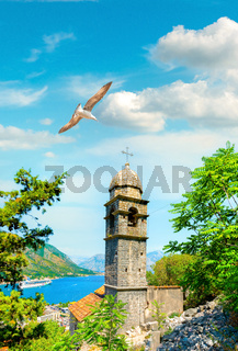 Bell tower on the rock
