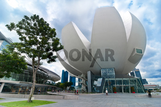Urban landscape of Singapore
