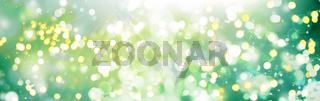 lichter sonne natur abstrakt banner bokeh