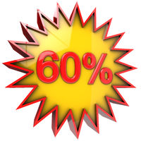Star off sixty percent