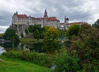 Schloss Sigmaringen, Hohenzollernschloss, an der Donau, Sigmaringen, Schwäbische Alb, Baden-Württemberg, Deutschland, Europa
