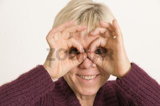human binocular
