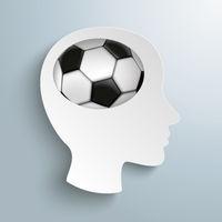 Paper Head Brain Football