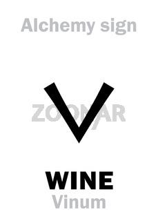 Alchemy: WINE (Vinum)