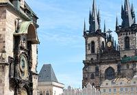 Rathausuhr Prag