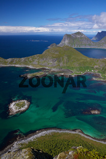 Picturesque view on Lofoten