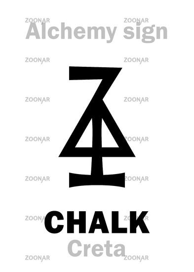 Alchemy: CHALK (Creta)