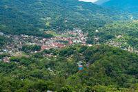 Die Provinzhauptstadt Makale liegt am Sedan Fluss in Tana Toraja auf Sulawesi