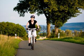 cycling woman