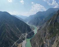 the beautiful nujiang river landscape