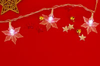 star shape garland