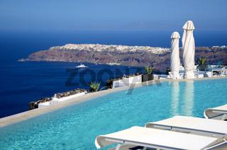 Blick nach Oia - Santorin - Griechenland