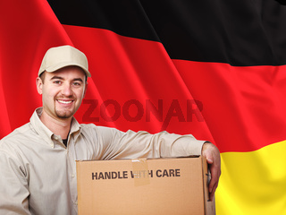 german delivery man