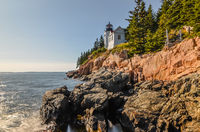 Bass Harbor Leuchtturm, Acadia National Park, Maine, Neuengland, USA, Nordamerika