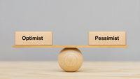 Optimismus und Pessimismus im Gleichgewicht