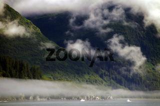 Nebelbank bei Valdez