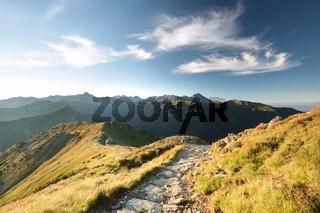 Tatra Mountains at sunrise