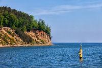 Orlowo Cliff at Baltic Sea in Gdynia