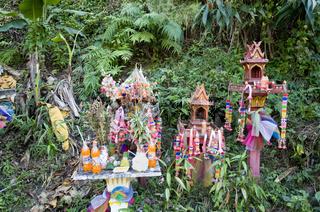 Geisterhaeuschen, Thailand